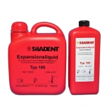 Siladent Expansion Liquid type 100 - 1l bottle - sisestusmassi vedelik