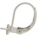 Kõrv/kinnitus Ag 925,pärlile 4mm