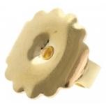 Kõrv/lukk F601, kuld 585, 0.11g