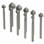 Istutusfreeside komplekt 3,5-8,0mm,11 tk.
