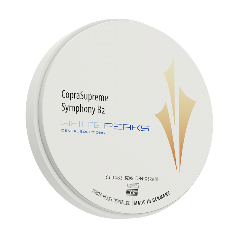 WhitePeaks CopraSupreme Symphony blank 98 Ø x 12 mm - B2