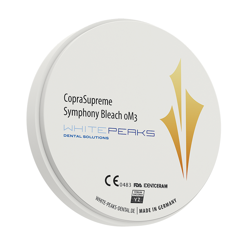 WhitePeaks CopraSupreme Symphony Bleach blank 98 Ø x 16 mm - 0M3